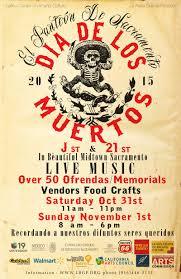 midtown hosts annual dia de los muertos celebration org dia de los muertos poster