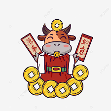 Chinese new year asian couple tet couple asian funny lunar new year background tet vietnamese apricot blossom and cherry blossom backdrop 4k00.20happy chinese new year 2021 year of the ox celebration animation in light background featuring oriental ornaments and new year blossom. Chinese New Year Lunar New Year Year Of The Ox Everything Goes Well Wealth Chinese New Year Png Transparent Clipart Image And Psd File For Free Download