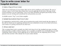 Nutrition Cover Letter Nutrition Cover Letter Clinical Cover Letter ...