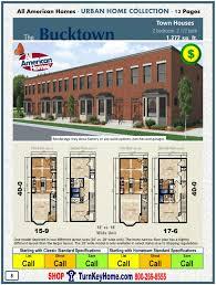 multi family house plans inspirational duplex narrow lot two 2 beach unique four plex 4 unit