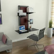 ... Large Size of Uncategorized:wall Mount Computer Desk With Brilliant Computer  Desks Wall Mounted Computer ...