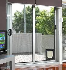 good patio door with dog door and sliding patio screen door with dog 65 patio door