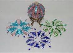 Beaded Christmas Ornaments Patterns Interesting FREE PATTERNS BEADED CHRISTMAS ORNAMENTS CHECK THEM OUT Headed