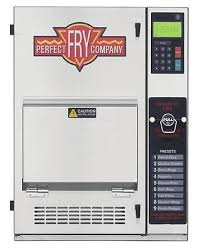 perfect fry company pfc5708 ventless hoodless countertop deep fryer 5 7kw 208v