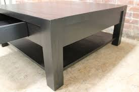 Parsons Square Coffee Table Square Parsons Style Coffee Table Ecustomfinishes