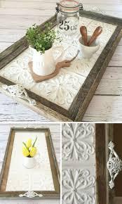diy crafts ideas serving tray