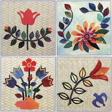 Quilts with flowers: 3 ways to sew showy blooms - Stitch This! The ... & Applique quilt blocks from Artful Applique Adamdwight.com