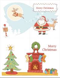 Holiday Templates For Word Free Christmas Office Com