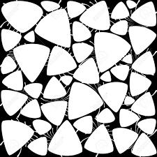 black and white contemporary wallpaper  room design ideas