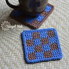 Knit Coaster Pattern Magnificent Inspiration Design