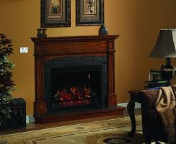 Large Flush Wood HybridFyre™ Wood Insert Rect  Fireplace Large Electric Fireplace Insert