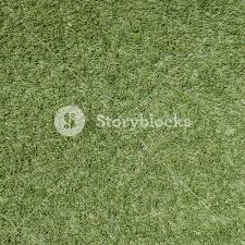 Green grass soccer field texture and background Royalty Free Stock