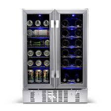 newair 18 bottle capacity snless