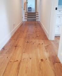 Brilliant Pine Hardwood Floor Natural Plank Tung Oil L Throughout Creativity Ideas