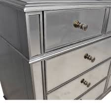hayworth collection mirrored furniture. Pier 1 Hayworth Collection Mirrored Silver Dresser Used Furniture U