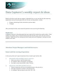 Business Report Layout For A Example Template – Scopeinc