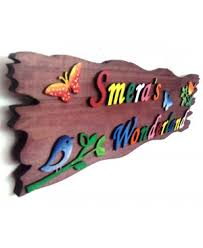 Small Picture Buy Innovationz Acrylic Name Plate For Home Decor Free Shipping