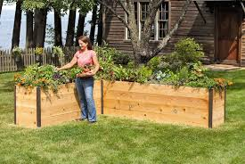 garden bed kit. Elevated Cedar Raised Bed, 2\u0026#8217; Garden Bed Kit