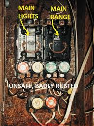 Home Electrical Fuse Box Labeling Old Home Fuse Box Parts