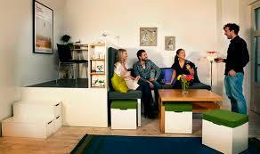 compact living room furniture. Compact Living:: Matroshka - Transforming Home Furniture Living Room I