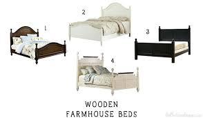 Farmhouse Bed Farmhouse Canopy Bed Farmhouse Bed Frame King ...