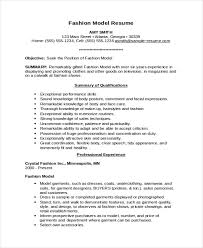 Resume Model 14 4 Templates