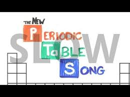 periodic table song with captions