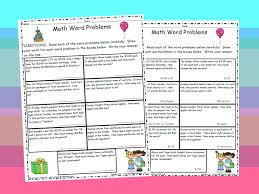 enchanting 4th grade math word problems worksheets with answers in 4th grade resources page 30