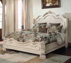 bedroom ashley sleigh bed marvelous the ortanique traditional queen bed with sleigh headboard by ashley