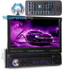 power acoustik pnx touchscreen blutooth dvd cd mp car item 8 power acoustik pd 724hb 7 cd dvd mp3 usb sd aux bluetooth 300w amplifier stereo
