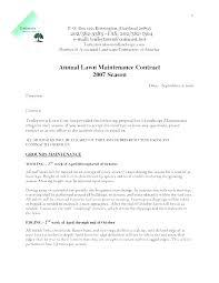 Landscape Maintenance Contract Decoratinghouse Co