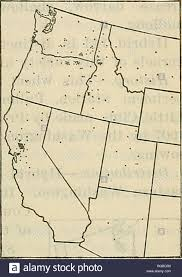 Bulletin of the U.S. Department of Agriculture. Agriculture; Agriculture.  CLASSIFICATION OF AMERICAN WHEAT VARIETIES. 175. Fig. 70.—Outline map of  the western United States, showing the distribution of Little Club wheat in