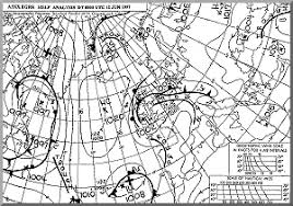 surface pressure charts weather charts