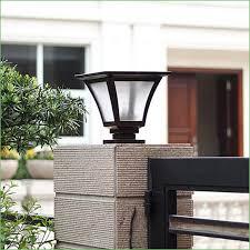 fence post solar light caps solar post cap lights outdoor