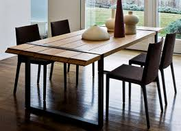 modern wood dining room sets. Local Dining Room Decoration: Charming Table Designs In Wood Modern Wooden From Sets Windigoturbines