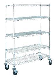 stainless steel wire shelving costco shelf unforeseen rolling metal wire shelves