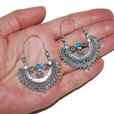 tribal belly dance earrings