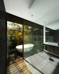 Awesome Outdoor Bathroom Decorating Design