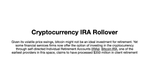 Bitcoin ira arose in 2016 out of a desire for an alternative asset to invest in for retirement. Amazon Com Bitcoin Ira Guide Appstore For Android