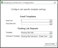 Customs Packing List Template