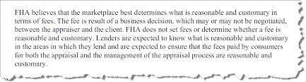Appraisal Scoop Hud Fha