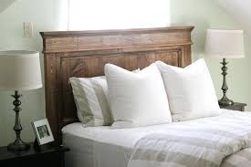Diy Tufted Headboard And Bed Frame Ideas For Queen Beds Wood Fabric. Diy  Rustic Headboard Pinterest Wood Ideas. Diy Headboard Ideas For King ...