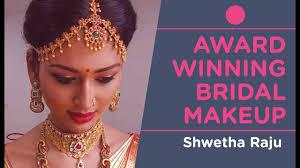bridal makeup by award winning makeup artist bangalore