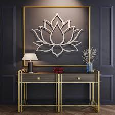 lotus flower 3d metal wall art 24 w x 20 5 h  on metal lotus flower wall art with lotus flower 3d metal wall art 24 w x 20 5 h x 0 25 d arte and