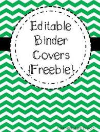 Editable Binder Cover Templates Free Powers Of 10 Math Face Off 5 Nbt 2 School Stuff Binder Covers