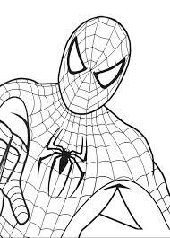 Disegno Di Spiderman L Uomo Ragno A Colori Per Bambini Con Disegni