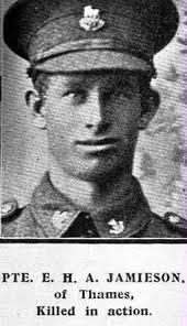 Ernest Harold Albert Jamieson - Online Cenotaph - Auckland War ...