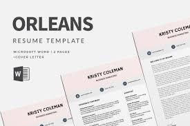 75 Best Free Resume Templates Of 2019 Microsoft Word Orleans Tem