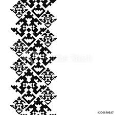Navajo tattoo designs Choctaw Indians Tattoo Belt Tribal Card In American Indian Style Seamless Border For Design Ethnic Tiled Ornament On White Background Navajo Pixel Tiles Adobe Stock Tattoo Belt Tribal Card In American Indian Style Seamless Border