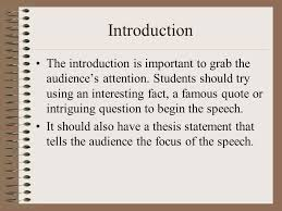 essential elements of a speech how to write a speech writing a  3 introduction
